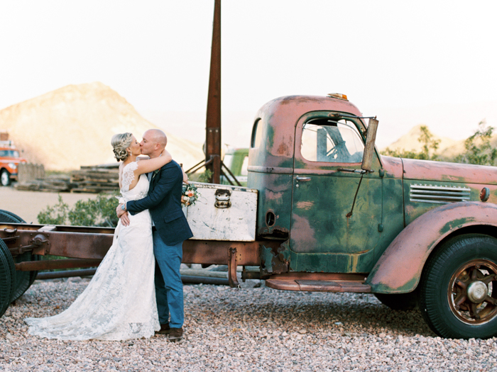 nelson ghost town rustic destination vegas wedding 38