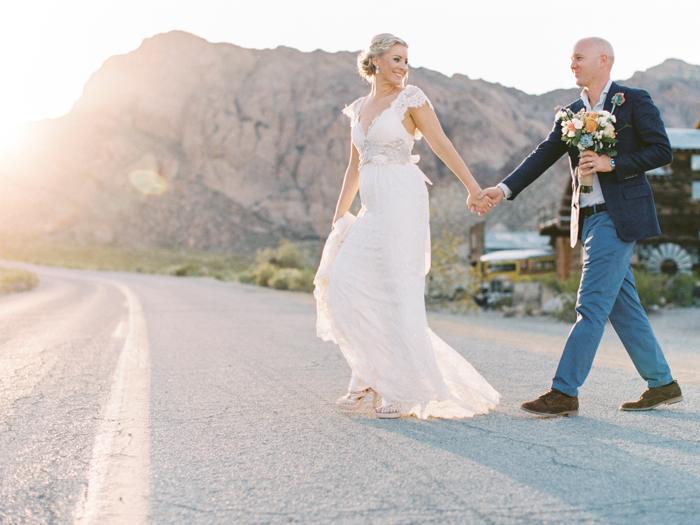nelson ghost town rustic destination vegas wedding 40