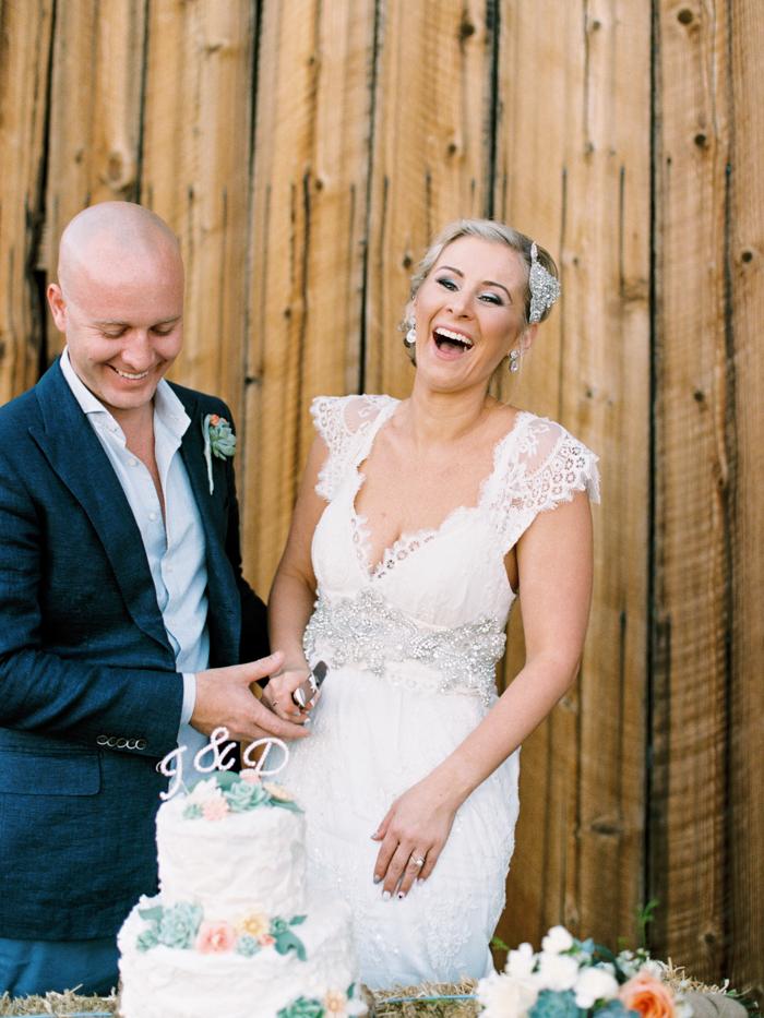 barn wedding in las vegas photo