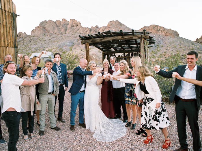 rustic barn wedding in las vegas photo