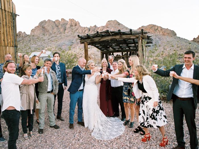 rustic barn wedding in las vegas photo