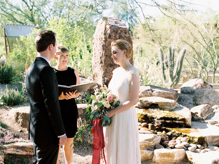 intimate springs preserve wedding photo