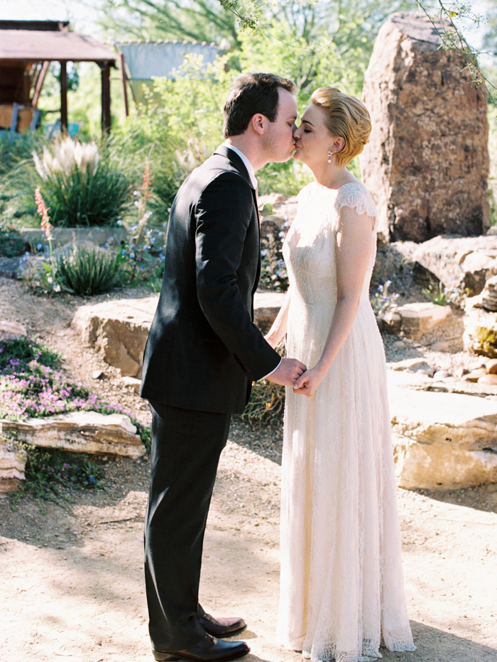 intimate springs preserve wedding photo