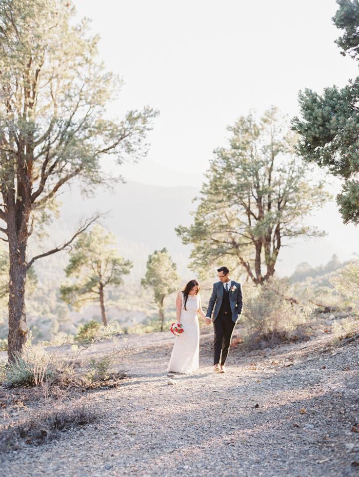 intimate mountainside wedding in las vegas 4.jpg