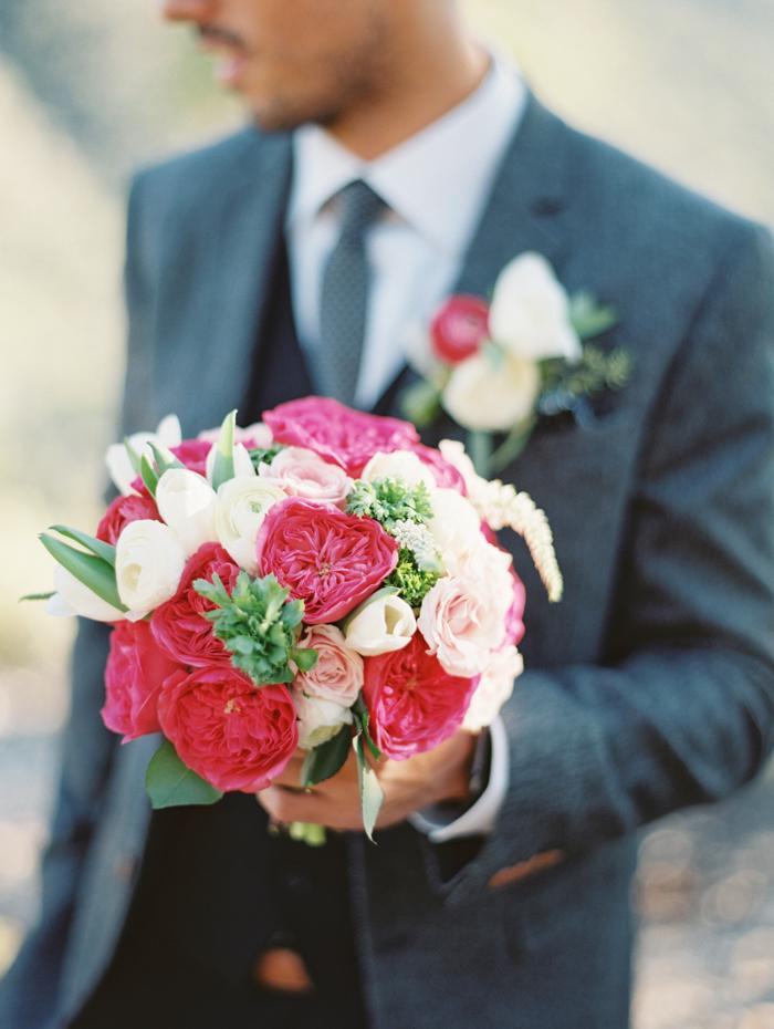 bright flowers flora pop bouquet