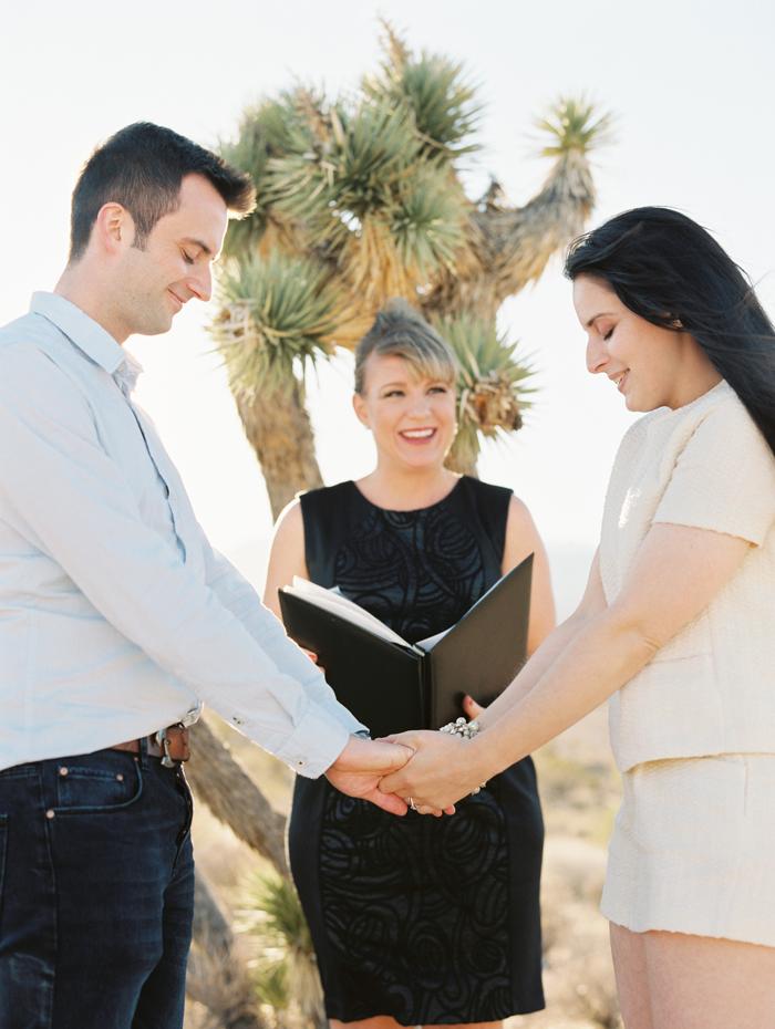 peachy keen unions desert elopement