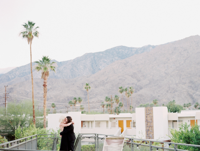 ace hotel palm springs chic elopement photo | gaby j photography