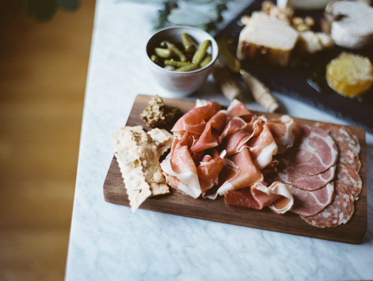 charcuterie spread | intimate birthday dinner | gaby j photography