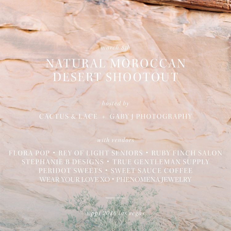 natural moroccan desert shootout | gaby j photography cactus and lace weddings