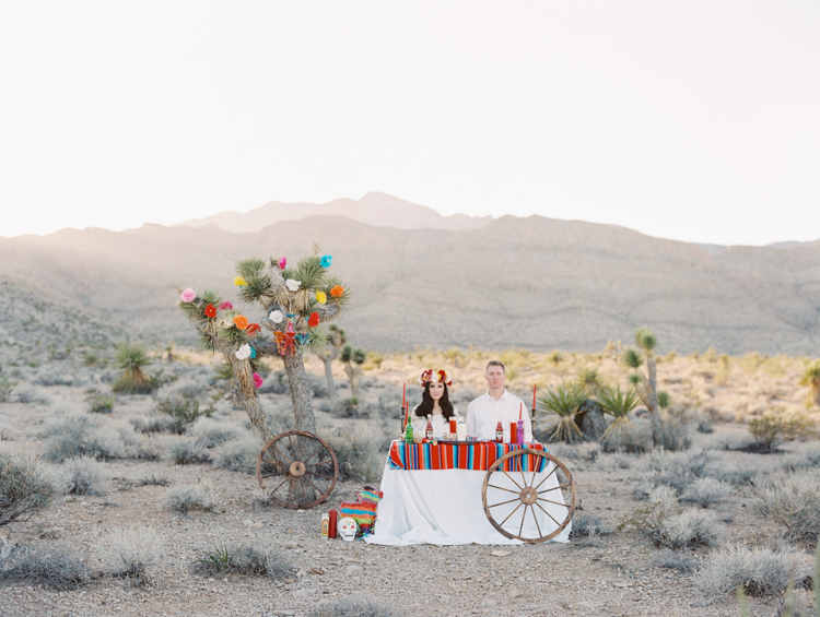 day of the dead inspired engagement session | gaby j photography | las vegas engagement photographer | destinations by design