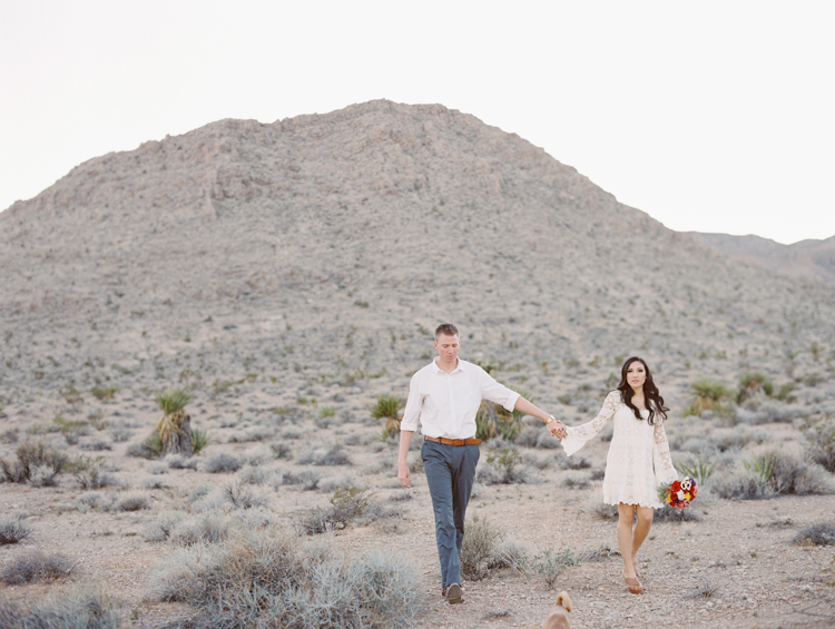 day of the dead inspired engagement session | gaby j photography | las vegas engagement photographer