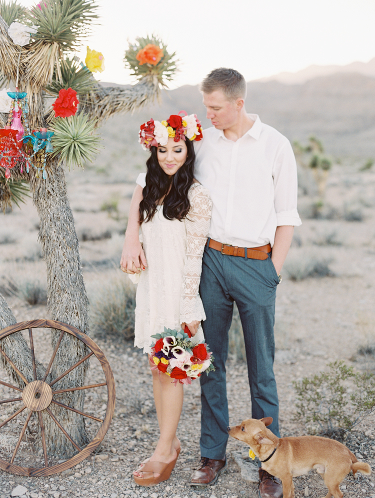 day of the dead inspired engagement session | gaby j photography | las vegas engagement photographer | destinations by design | dia de los muertos engagement