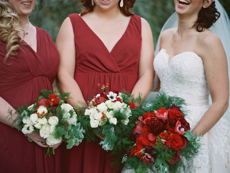 classic JW Mariott Las Vegas Wedding | las vegas wedding photographer | gaby j photography | ruby finch salon | thimbleberry house | allure bridal | wine colored bridesmaids dresses