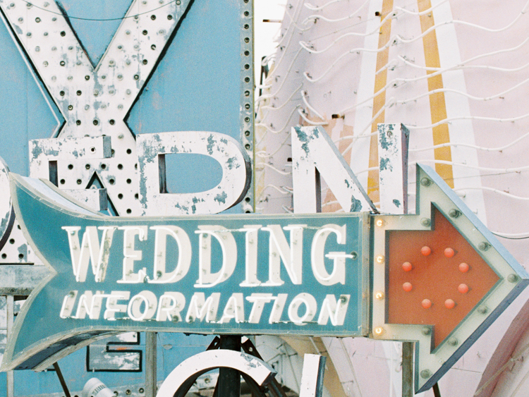vintage las vegas signs wedding | gaby j photography | las vegas wedding photographer