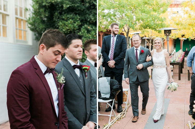 historic fifth street school wedding | gaby j photography | las vegas wedding photographer | family gathering winter wedding inspiration