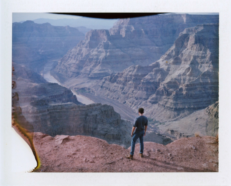grand canyon west rim | gaby j photography | grand canyon polaroid