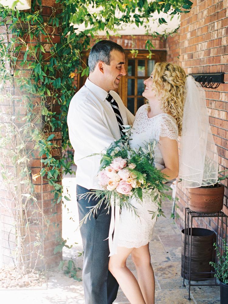 private las vegas estate wedding | backyard garden elopement in las vegas | gaby j photography | flora pop