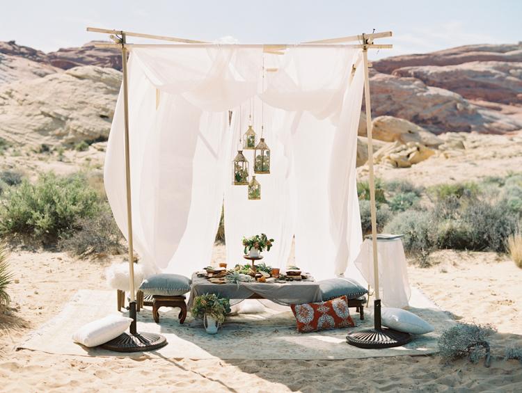 moroccan inspired desert wedding | gaby j photography | desert wedding inspiration with a camel