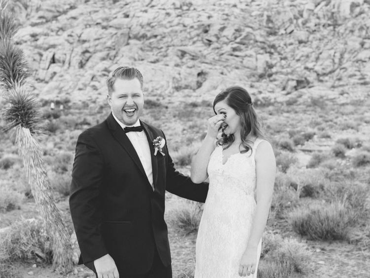 small wedding at red rock canyon national park | desert elopement | gaby j photography | las vegas elopement | danani handmade adornments