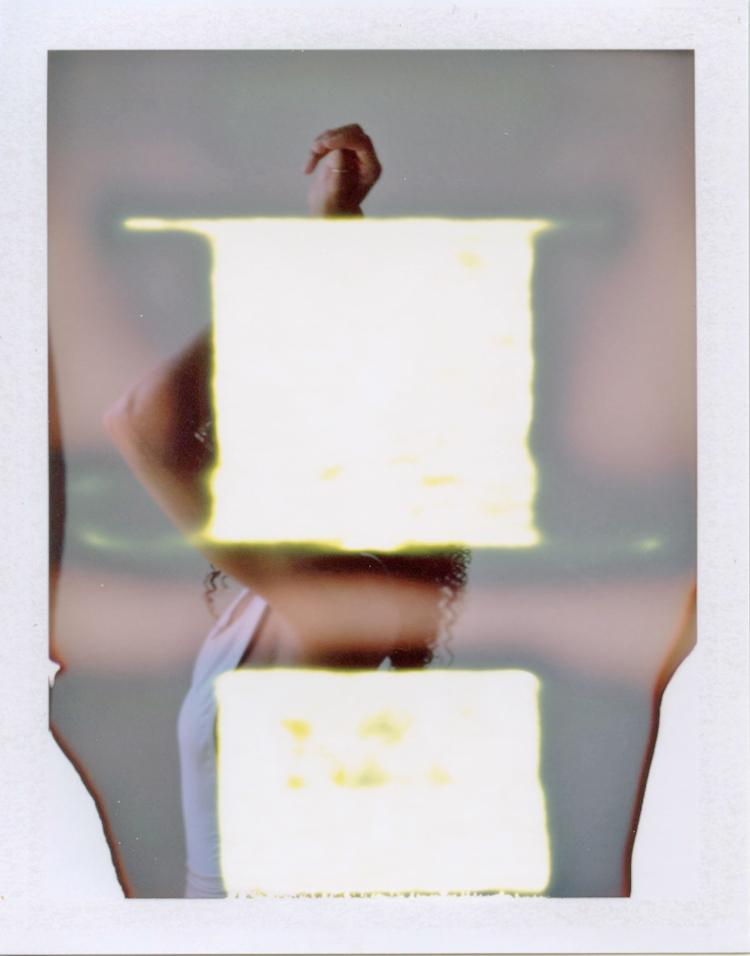 gaby j photography editorial polaroid | las vegas editorial photographer | fp 100c