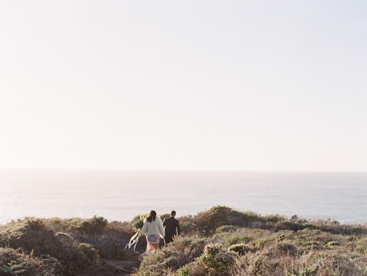 carmel by the sea elopement | destination elopement photographer | big sur elopement | gaby j photography | flora pop | california coast elopement