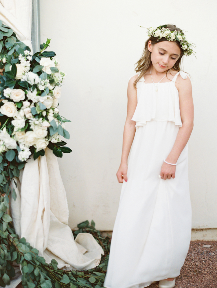 flower girl in free people dress