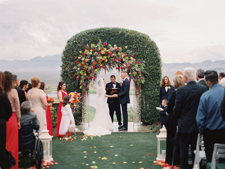 paiute golf las vegas wedding photography