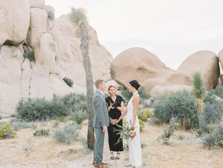 joshua tree national park elopement photographer