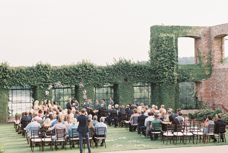 rivermill event centre river gardens wedding ceremony