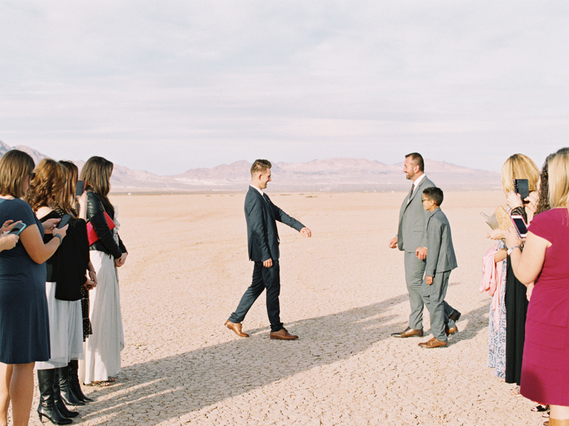 las vegas desert ceremony