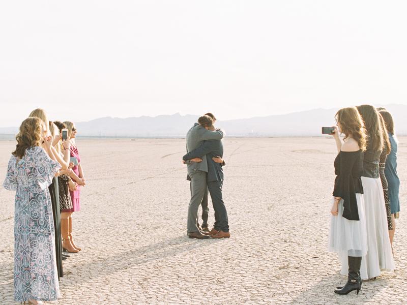 dry lake bed wedding las vegas