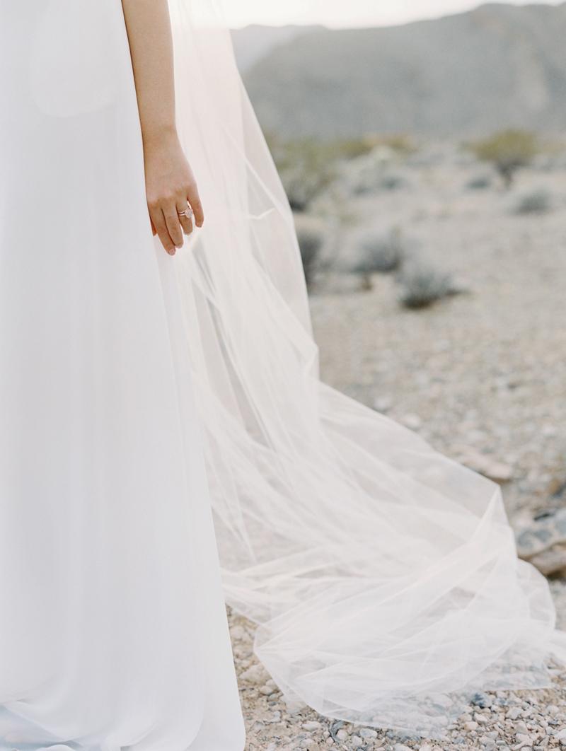 desert bridal minimalism