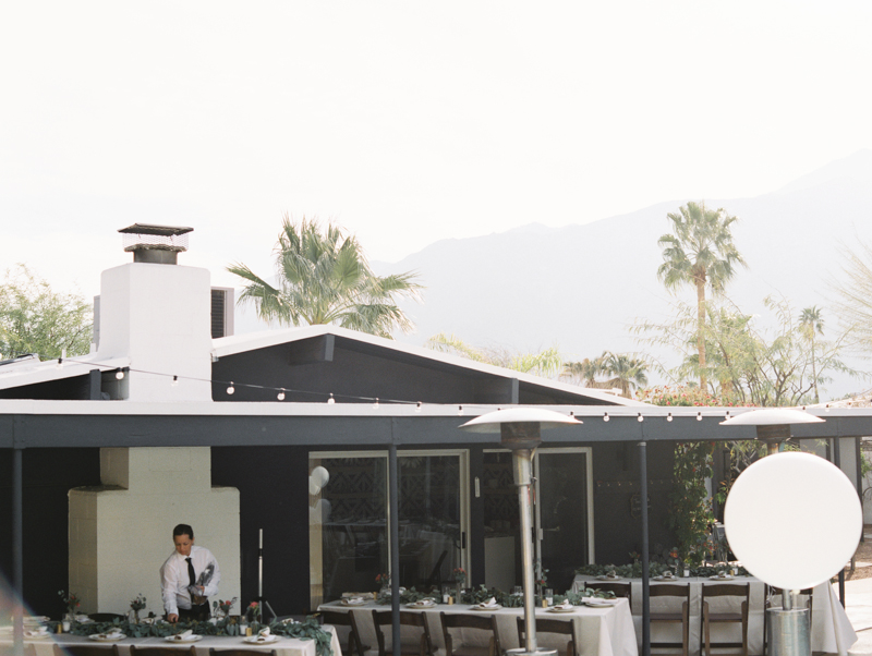 outdoor palm springs wedding venue