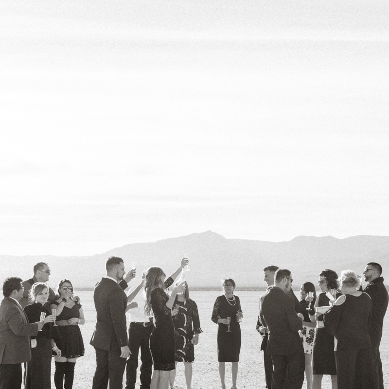 las vegas desert wedding
