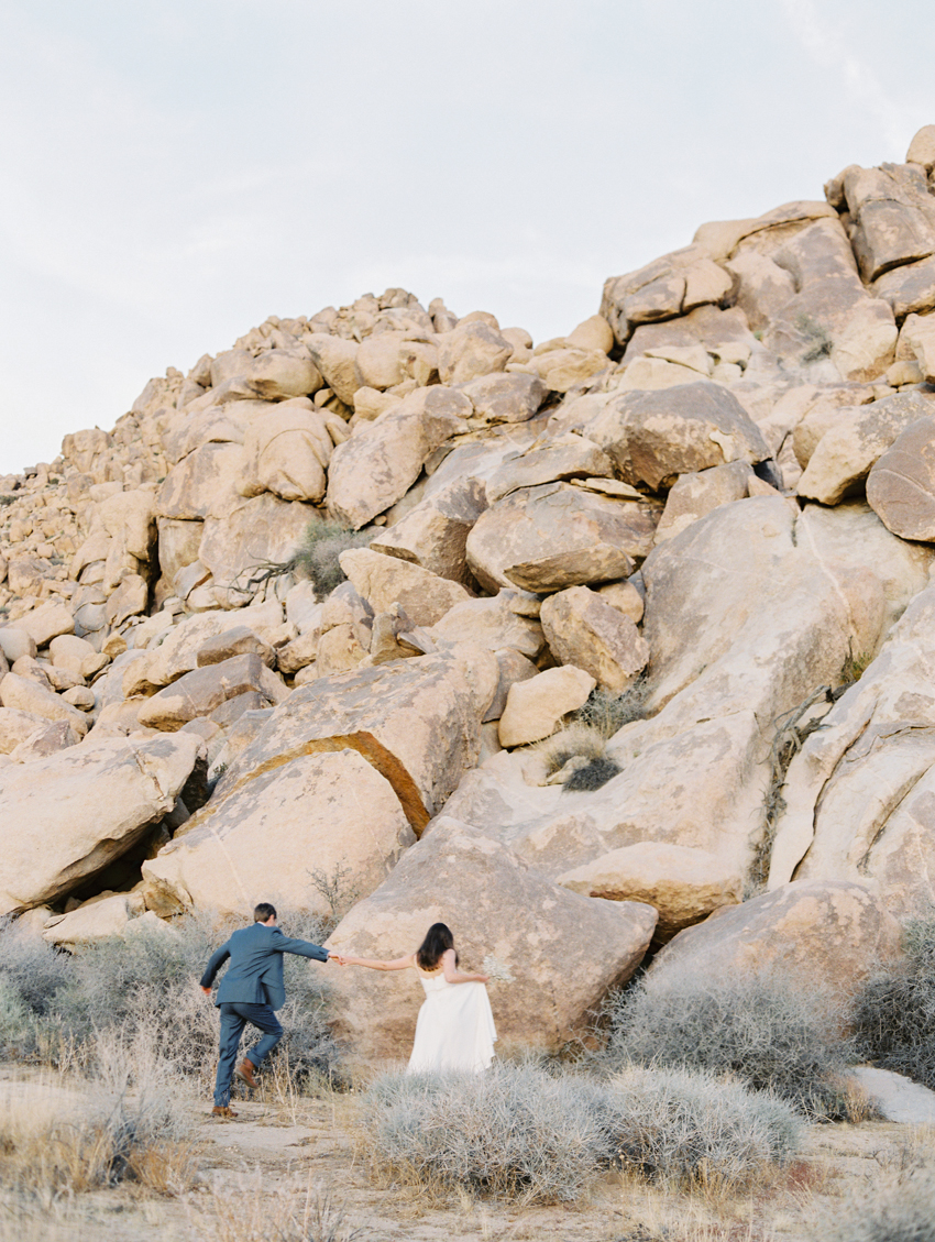 joshua tree national park elopement photography
