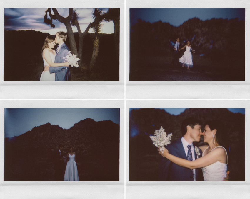 wedding polaroids joshua tree gaby j