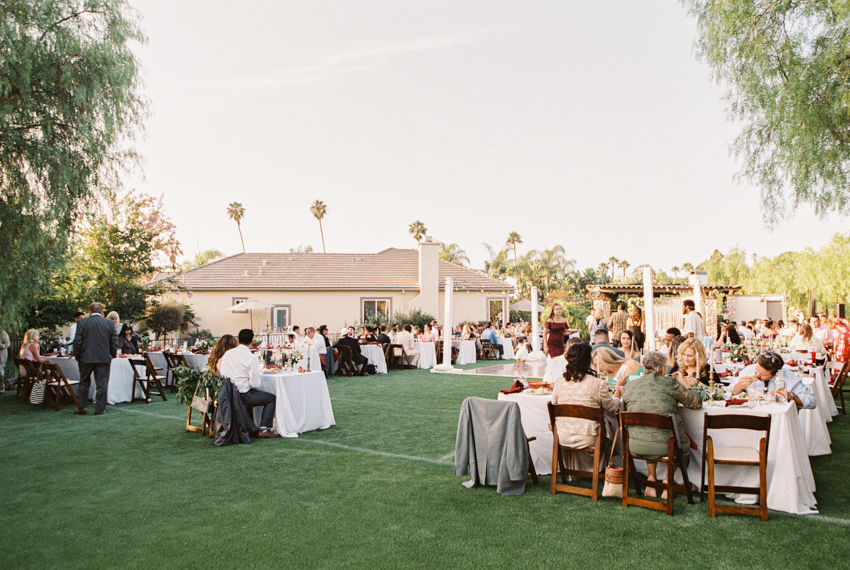 private estate wedding in oceanside