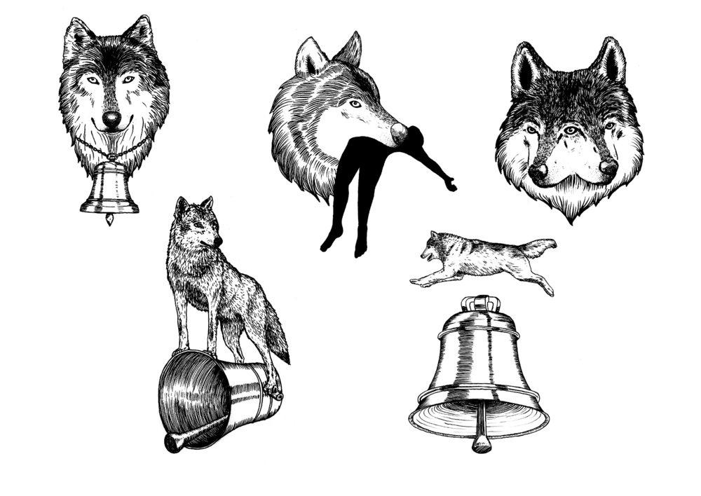 wolf bell spread