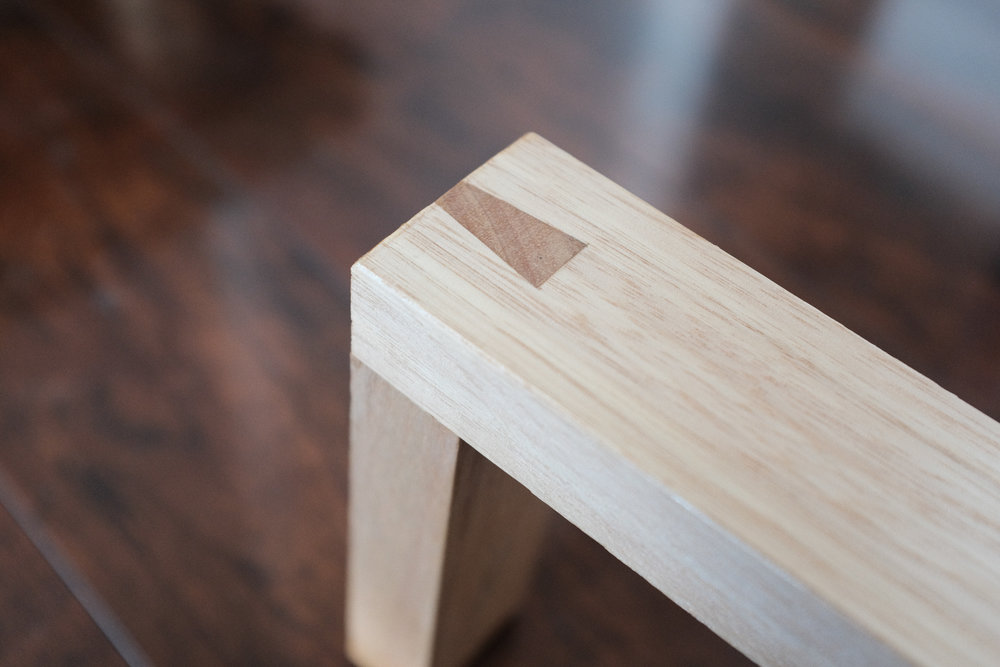 Dovetail joint detail PF