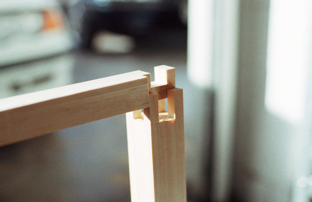 Table leg joinery PF