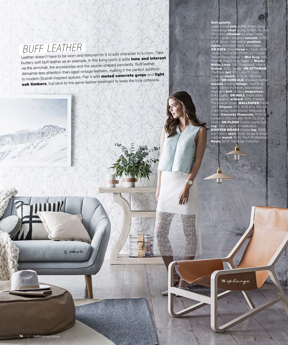 'BRIGHT SNOW' AS SEEN IN REAL LIVING  SEP 2015