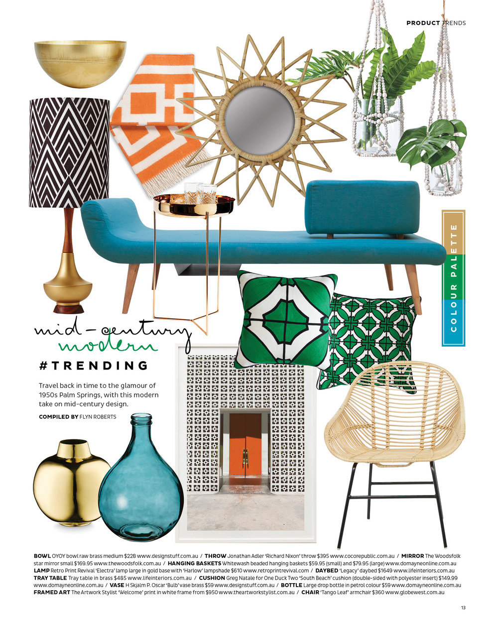 'WELCOME' AS SEEN IN ADORE HOME MAGAZINE  FEB 2016