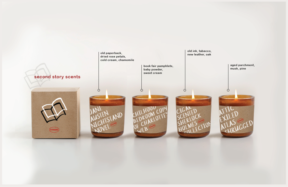 Candles that smell of old books will send avid book-lovers back down memory lane.