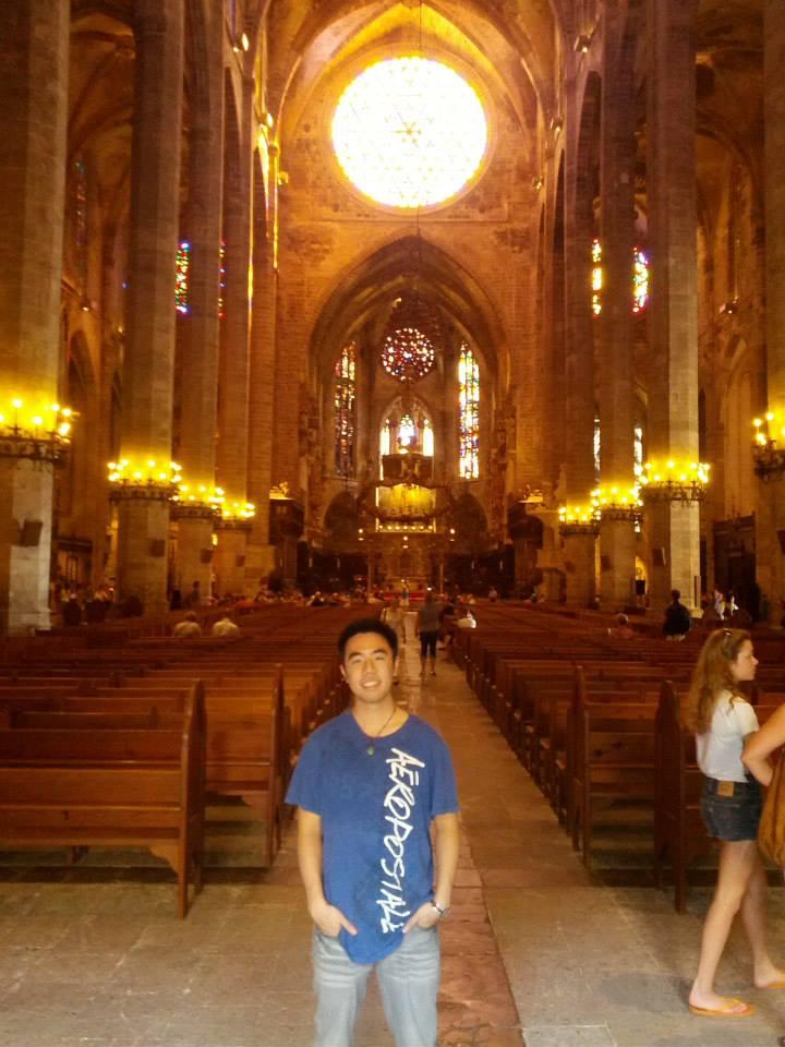 Inside Cathedral Santa Maria