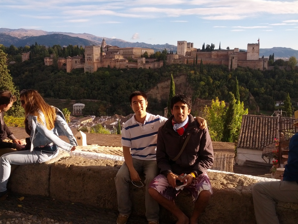 Alhambra in the Background