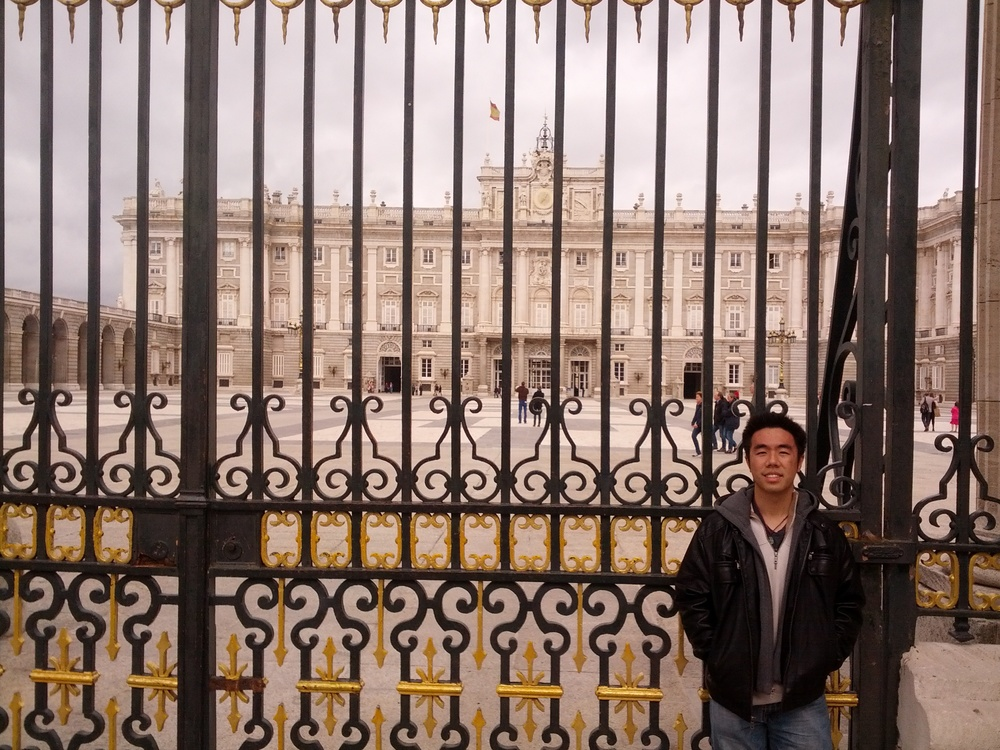 Royal Palace Gates