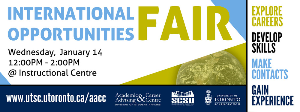 International Opportunities Fair Banner