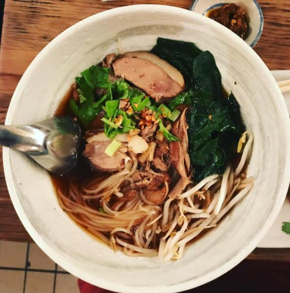 Duck Noodle Soup  @3pointsperdollarspent/Instagram