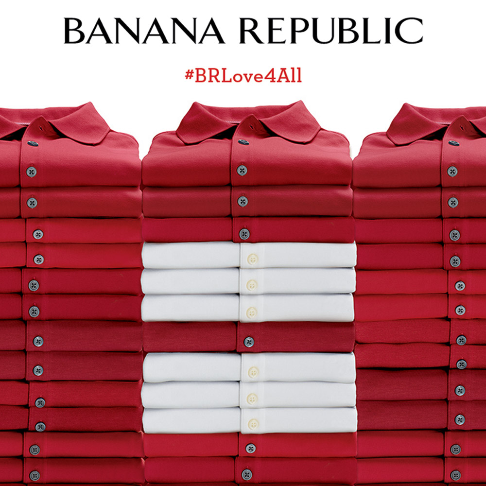 Banana Republic Equality Logo
