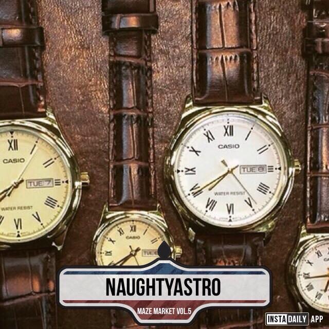 原廠Casio復古手錶 @Naughtyastro